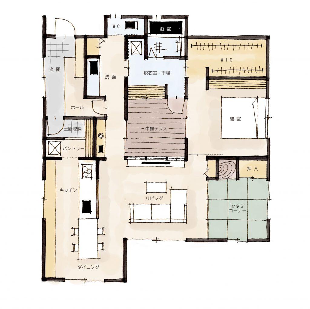 CAD フリーデータ/建築パース・鳥瞰図・内観外観 …