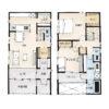プライベートなお庭のある家の間取り | 27坪・2LDK・2階建て