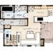 生活をコンパクトにスッキリと!小さな家の間取り | 2階建・19坪・3LDK